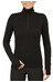 Icebreaker Tech Top LS Half Zip Shirt Women black